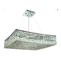 Elegant Lighting Maxim 12 Light Dining Chandelier in Chrome with Spectra Swarovski Clear Crystal 2032D28C/SA alternative photo thumbnail