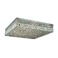 Elegant Lighting Maxim 13 Light Flush Mount in Chrome with Royal Cut Clear Crystal 2032F24C/RC alternative photo thumbnail