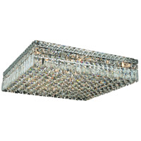 Maxim 13 Light 24 inch Chrome Flush Mount Ceiling Light in Spectra Swarovski
