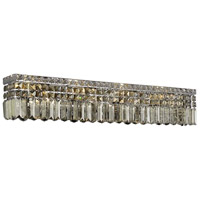 Maxim 7 Light 30 inch Chrome Vanity Wall Light in 30