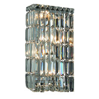 Elegant Lighting Maxim 4 Light Wall Sconce in Chrome with Elegant Cut Clear Crystal 2032W8C/EC alternative photo thumbnail