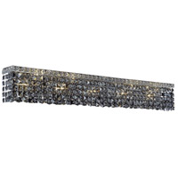 Elegant Lighting Maxim 10 Light Vanity in Chrome with Swarovski Strass Silver Shade Crystal 2033W44C-SS/SS