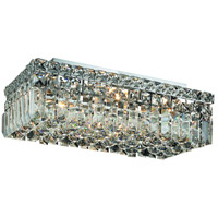 Elegant Lighting Maxim 4 Light Flush Mount in Chrome with Elegant Cut Clear Crystal 2034F16C/EC