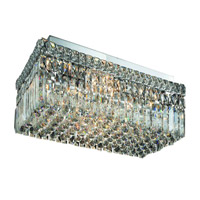 Elegant Lighting Maxim 6 Light Flush Mount in Chrome with Swarovski Strass Clear Crystal 2034F24C/SS alternative photo thumbnail