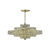 Elegant Lighting Maxim 13 Light Dining Chandelier in Gold with Royal Cut Clear Crystal 2039D20G/RC alternative photo thumbnail