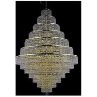 Elegant Lighting 2039G42G/EC Maxime 38 Light 42 inch Gold Foyer Ceiling Light in Clear Elegant Cut