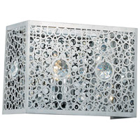 Elegant Lighting Soho 1 Light Wall Sconce in Chrome with Royal Cut Clear Crystal 2052W8C/RC