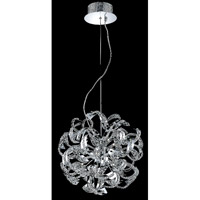 Tiffany 13 Light 21 inch Chrome Chandelier Ceiling Light
