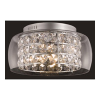 Elegant Lighting Apollo 12 Light Flush Mount in Chrome with Elegant Cut Clear Crystal 2069F20C/EC