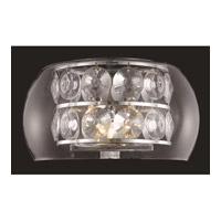Elegant Lighting 2069W11C/EC Apollo 3 Light 11 inch Chrome Wall Sconce Wall Light