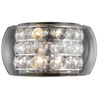 Elegant Lighting Apollo 4 Light Wall Sconce in Chrome with Elegant Cut Clear Crystal 2069W16C/EC alternative photo thumbnail