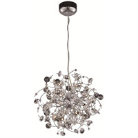 Elegant Lighting Iris 10 Light Dining Chandelier in Chrome with Elegant Cut Clear Crystal 2071D20C/EC alternative photo thumbnail