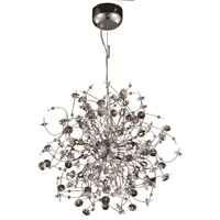 Elegant Lighting Iris 16 Light Dining Chandelier in Chrome with Elegant Cut Clear Crystal 2071D28C/EC alternative photo thumbnail