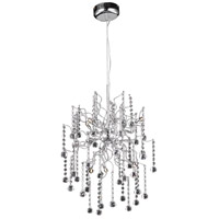 Elegant Lighting V2075D18C/RC Astro 6 Light 18 inch Chrome Dining Chandelier Ceiling Light