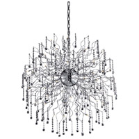 Elegant Lighting Astro 44 Light Foyer in Chrome with Royal Cut Clear Crystal 2075G43C/RC - Open Box