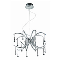 Hydra 16 Light 20 inch Chrome Dining Chandelier Ceiling Light