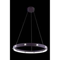 Elegant Lighting 2096D29BN/RC Infinity LED 30 inch Brown Pendant Ceiling Light