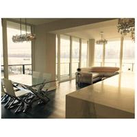 Elegant Lighting V2100D35C/RC Picasso 6 Light 11 inch Chrome Pendant Ceiling Light in Clear