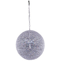 Cabaret 9 Light 20 inch Chrome Pendant Ceiling Light
