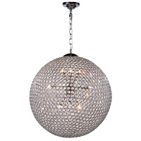 Cabaret 12 Light 24 inch Chrome Pendant Ceiling Light