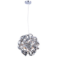 Ritz 7 Light 18 inch Silver Shade Pendant Ceiling Light