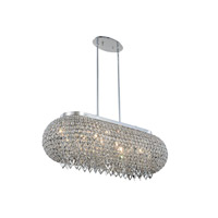 Brida 10 Light 14 inch Chrome Pendant Ceiling Light