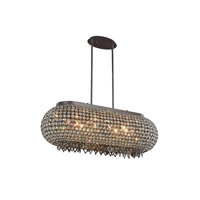 Brida 10 Light 14 inch Matte Dark Brown Pendant Ceiling Light