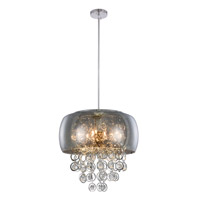 Jordan 10 Light 19 inch Chrome Pendant Ceiling Light
