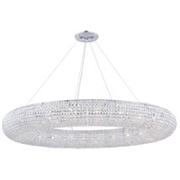 Elegant Lighting 2114G71C/RC Paris 30 Light 71 inch Chrome Chandelier Ceiling Light