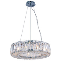 Cuvette 9 Light 20 inch Chrome Chandelier Ceiling Light, Royal Cut Clear Crystal
