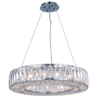 Cuvette 15 Light 26 inch Chrome Chandelier Ceiling Light, Royal Cut Clear Crystal