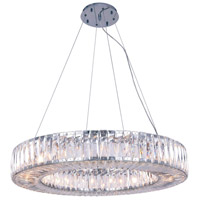 Cuvette 20 Light 32 inch Chrome Chandelier Ceiling Light, Royal Cut Clear Crystal