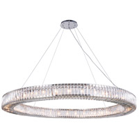 Elegant Lighting 2116G63C/RC Cuvette 36 Light 63 inch Chrome Chandelier Ceiling Light
