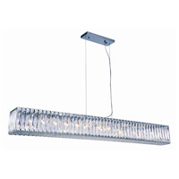 Cuvette 14 Light 8 inch Chrome Chandelier Ceiling Light, Royal Cut Clear Crystal