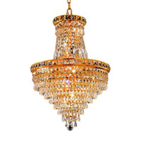 Elegant Lighting Tranquil 12 Light Dining Chandelier in Gold with Elegant Cut Clear Crystal 2526D18G/EC alternative photo thumbnail