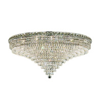 Elegant Lighting Tranquil 21 Light Flush Mount in Chrome with Spectra Swarovski Clear Crystal 2526F36C/SA alternative photo thumbnail
