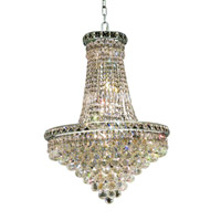 Elegant Lighting Tranquil 22 Light Dining Chandelier in Chrome with Royal Cut Clear Crystal 2527D22C/RC alternative photo thumbnail
