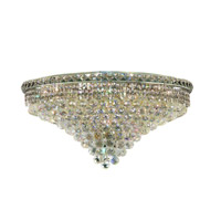 Elegant Lighting 2527F30C/SS Tranquil 18 Light 30 inch Chrome Flush Mount Ceiling Light in Swarovski Strass alternative photo thumbnail