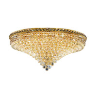 Elegant Lighting Tranquil 21 Light Flush Mount in Gold with Spectra Swarovski Clear Crystal 2527F36G/SA alternative photo thumbnail