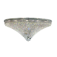 Elegant Lighting 2527F48C/SA Tranquil 33 Light 48 inch Chrome Flush Mount Ceiling Light in Spectra Swarovski alternative photo thumbnail