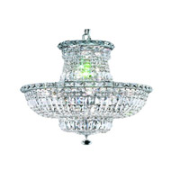 Elegant Lighting Tranquil 12 Light Dining Chandelier in Chrome with Royal Cut Clear Crystal 2528D18C/RC alternative photo thumbnail