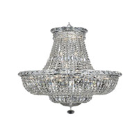 Elegant Lighting V2528D22C/SA Tranquil 22 Light 22 inch Chrome Dining Chandelier Ceiling Light in Spectra Swarovski alternative photo thumbnail