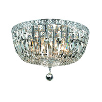 Elegant Lighting Tranquil 6 Light Flush Mount in Chrome with Royal Cut Clear Crystal 2528F16C/RC alternative photo thumbnail