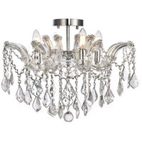 Elegant Lighting Maria Theresa Flush Mounts