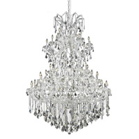 Elegant Lighting Maria Theresa 61 Light Foyer in Chrome with Spectra Swarovski Clear Crystal 2800G54C/SA alternative photo thumbnail
