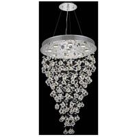 Elegant Lighting 2800G54GT-GT/RC Maria Theresa 61 Light 54 inch Golden Teak Foyer Ceiling Light in Royal Cut