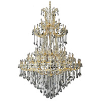 Elegant Lighting Maria Theresa 85 Light Foyer in Gold with Swarovski Strass Clear Crystal 2801G96G/SS