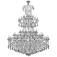 Elegant Lighting 2803G120C-SS/RC Maria Theresa 84 Light 96 inch Chrome Chandelier Ceiling Light