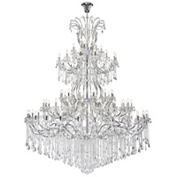 Elegant Lighting 2803G120C/SS Maria Theresa 84 Light 96 inch Chrome Chandelier Ceiling Light