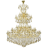 Maria Theresa 84 Light 96 inch Gold Chandelier Ceiling Light